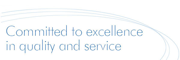 Committed to excellence in quality and service