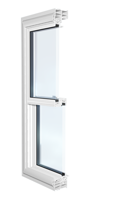 Series 3000 Platinum Double Hung / Tilt and Slide Window