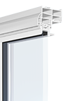 Series 3000 Platinum Double Hung / Tilt and Slide Window close up