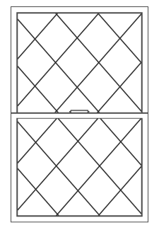 Diamond Window Grid