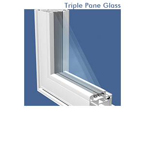 Triple Pane Glass